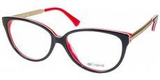 AB 1735B Shiny Black/White/Dark Red