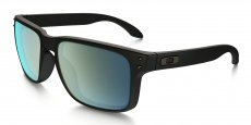 910250 MATTE BLACK / emerald iridium polarized