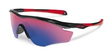 921206 POLISHED BLACK / red iridium polarized