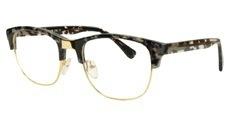 C12 Black and Transparent / Gold