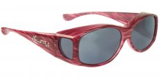 G012S Red Licorice (Polarvue™ Grey) w/crystal