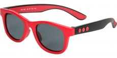 881106 Neon Red / Gray