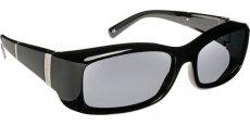 16/137/0000 Bars Black Frame/Gray Lenses