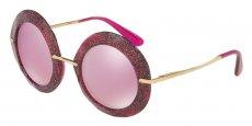 31057V FUXIA/GLITTER GOLD/pink mirror white