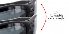 Hertz Eyewear - CW-E9 - 1080p HD Video Camera