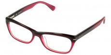 09ZF BURGUNDY GRADIENT CORAL RED