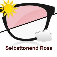 Rosa Photochromatisch