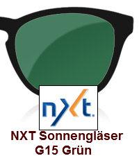 NXT Sonnengläser G15 Grün