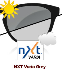 NXT Varia Photochromic Grey Sun Lens