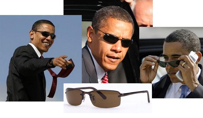 5e029e7ecd Barack Obama Sunglasses - Former US President