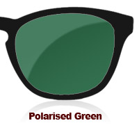 Polarised Green Sun Lens